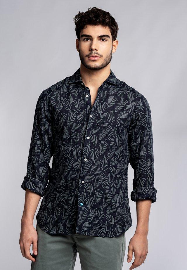 WATAMU  - Shirt - navy/green