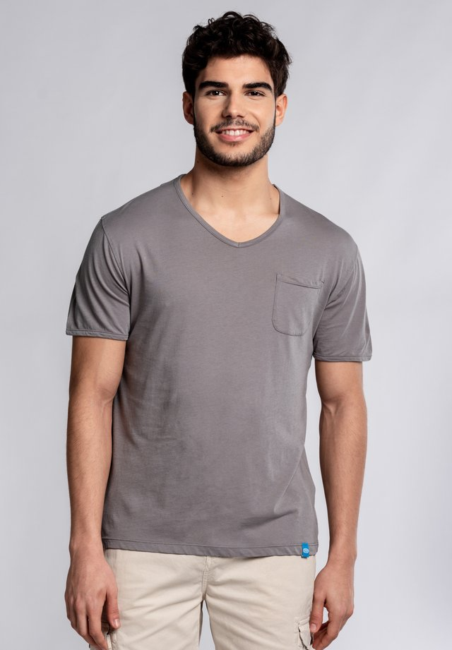 MOJITO  - Print T-shirt - grey