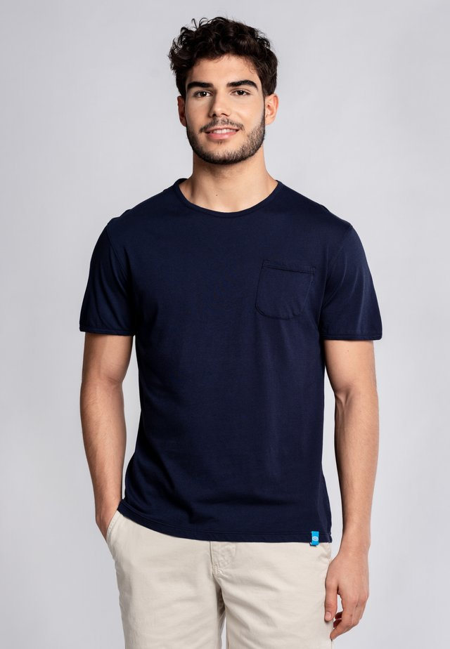 MARGARITA - Basic T-shirt - blue