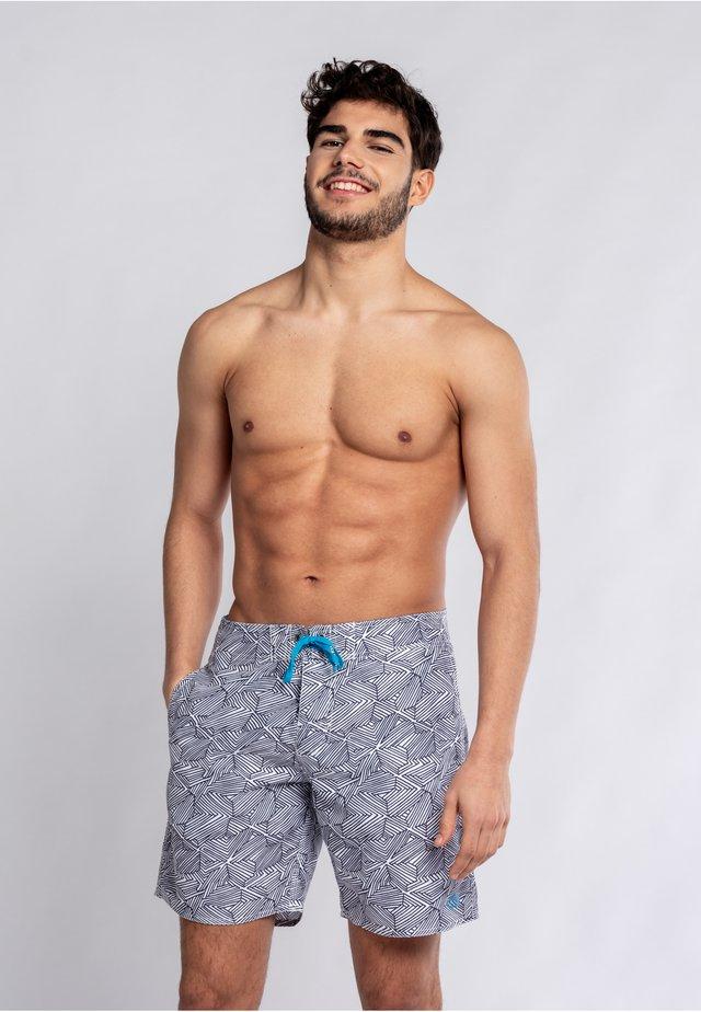 NAVAGIO - Swimming shorts - navy