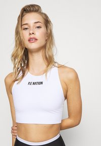P.E Nation - RACING LINE SPORTS BRA - Sports bra - white - 3