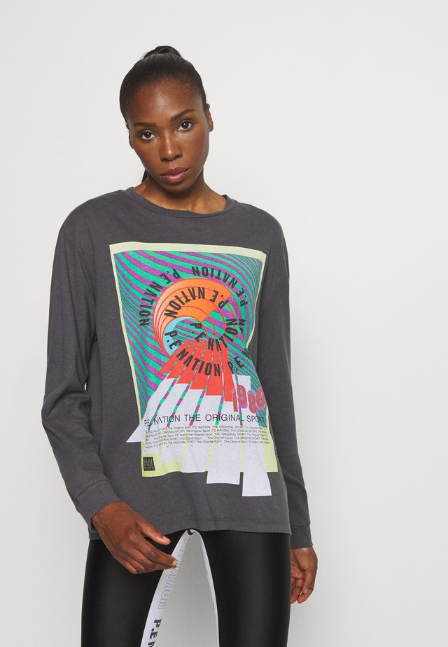 OVERHEAD - Long sleeved top - dark grey