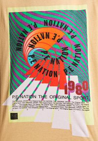 P.E Nation - OVERHEAD TEE - Print T-shirt - orange pale - 5