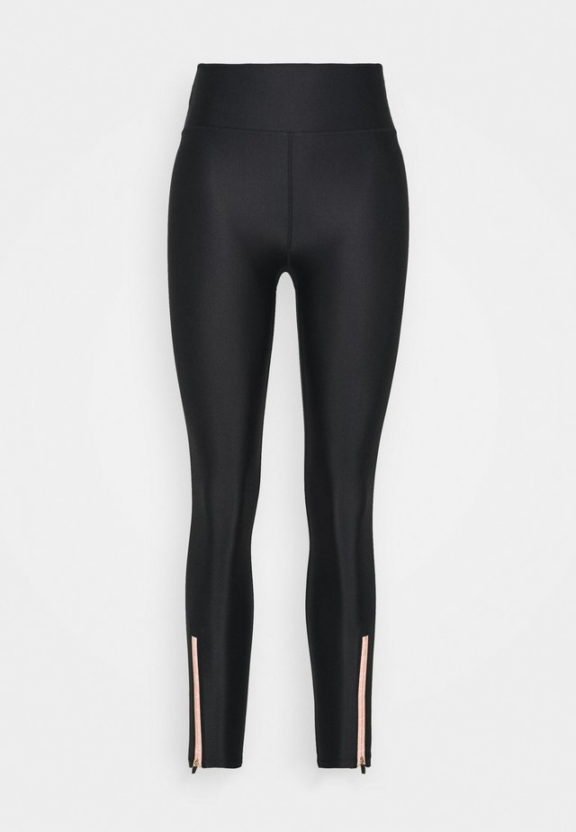 TRACK RUN LEGGING - Leggings - black