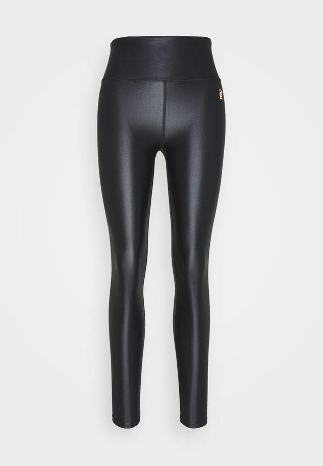 ROUND UP - Leggings - black