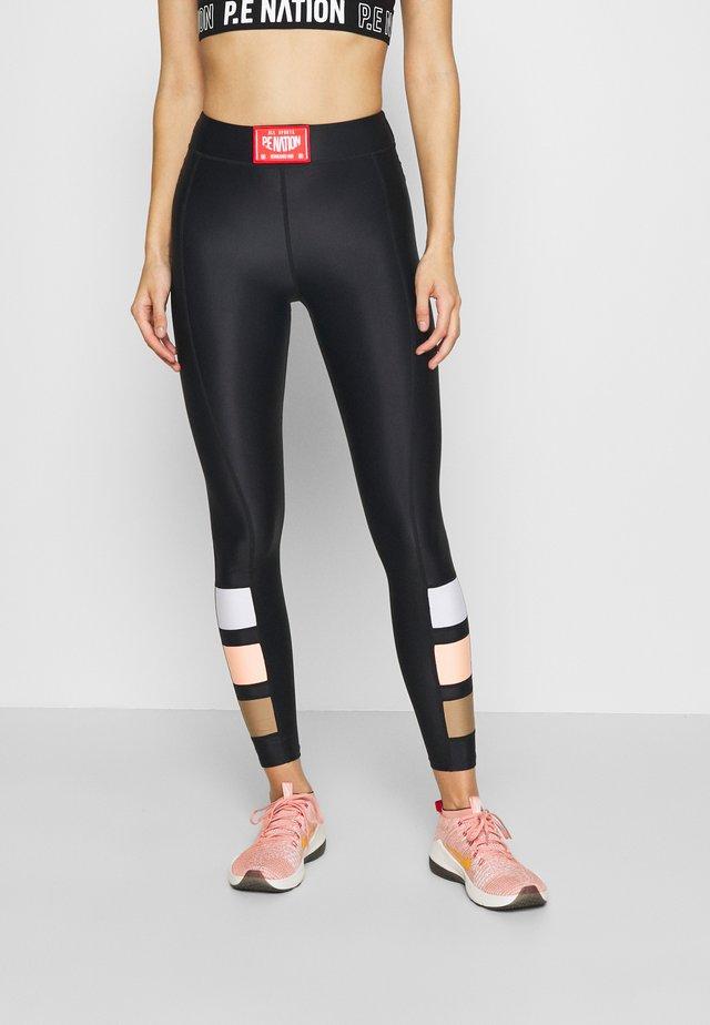 CROSS LIMITS LEGGING - Collants - black