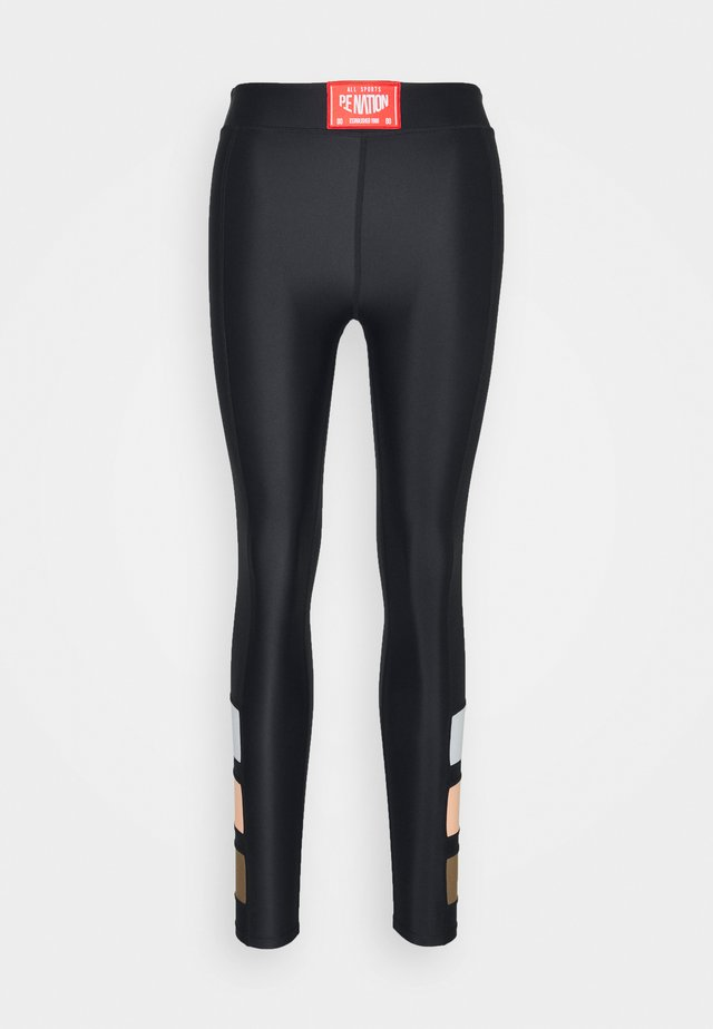 CROSS LIMITS LEGGING - Leggings - black