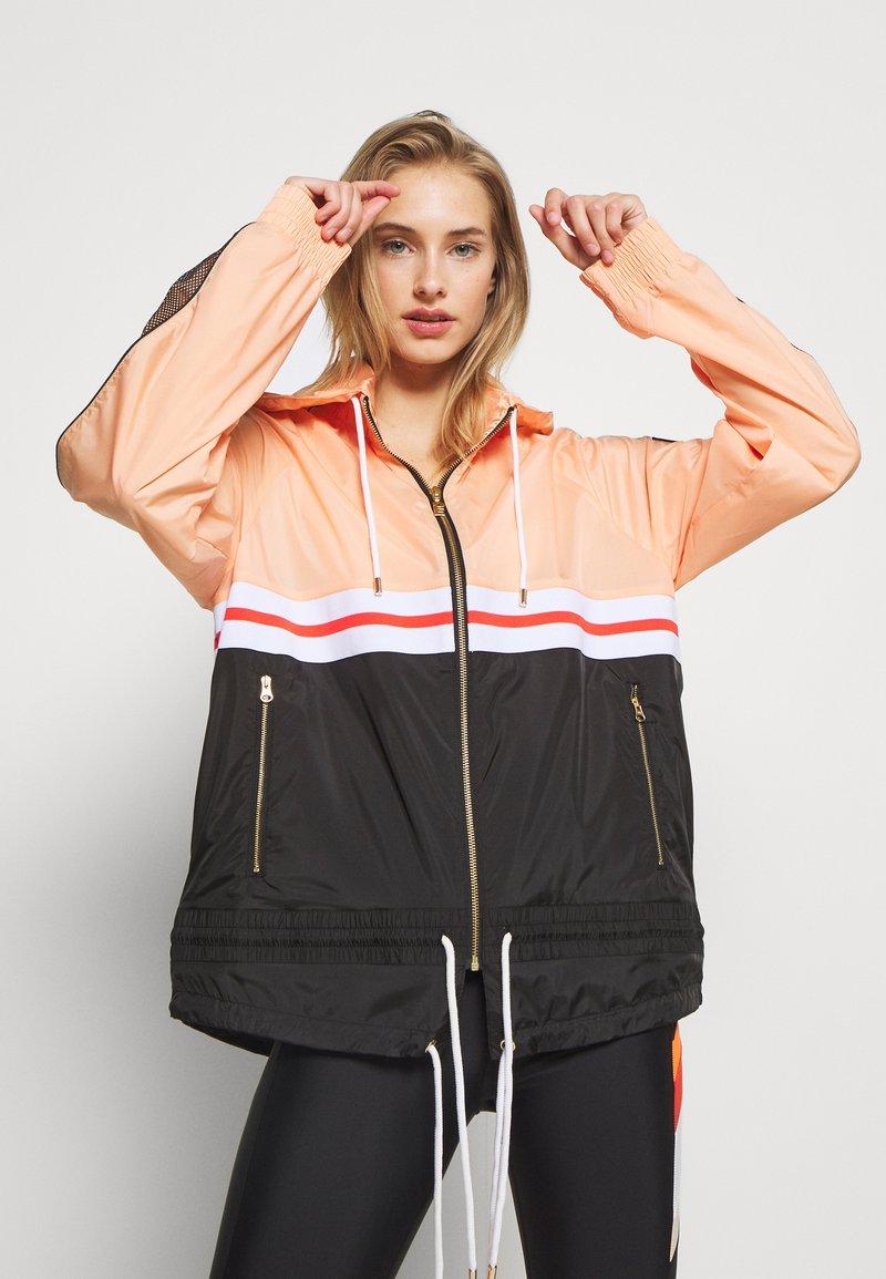 P.E Nation - MAN JACKET - Training jacket - orange pale