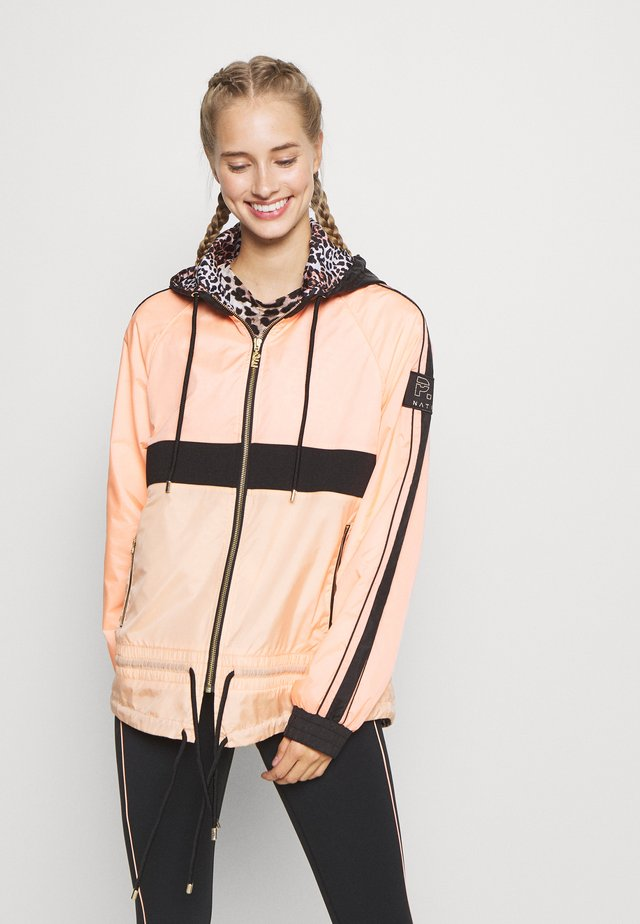 MAN DOWN JACKET - Veste de survêtement - poppy peach