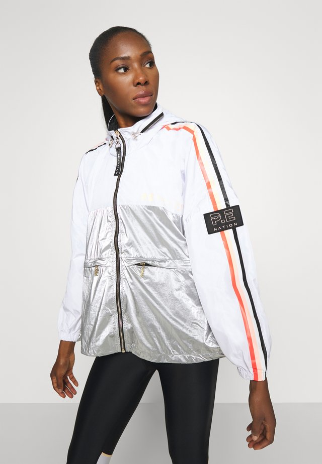 SIDE RUNNER JACKET - Trainingsvest - gryl