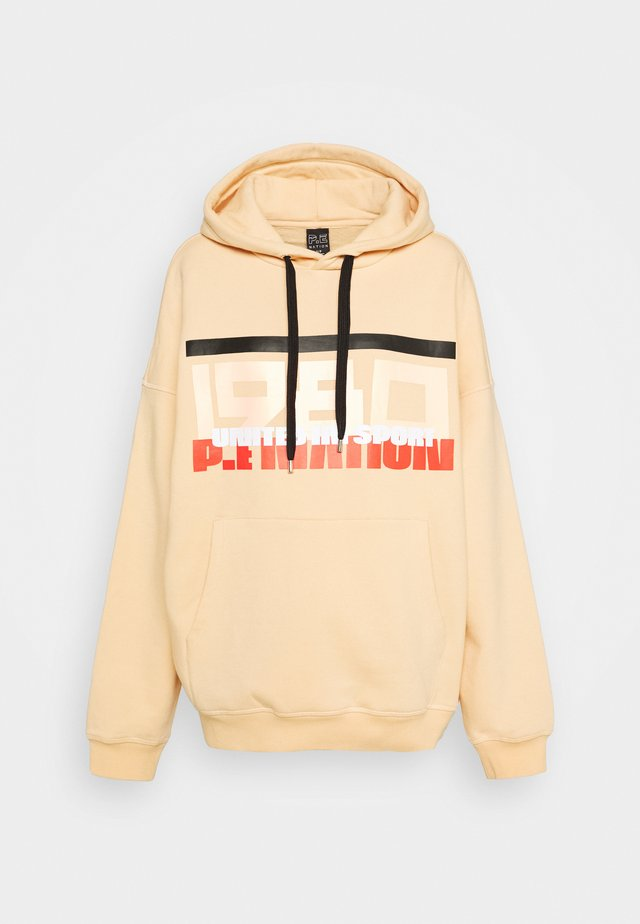 REPLAY HOODIE - Sweatshirt - caramel cream