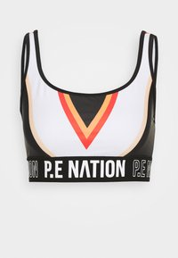 P.E Nation - ZONE IN SPORTS BRA - Sportovní podprsenka - black - 4