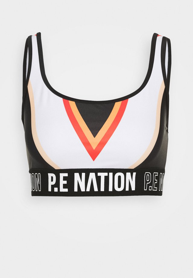 ZONE IN SPORTS BRA - Sports bra - black