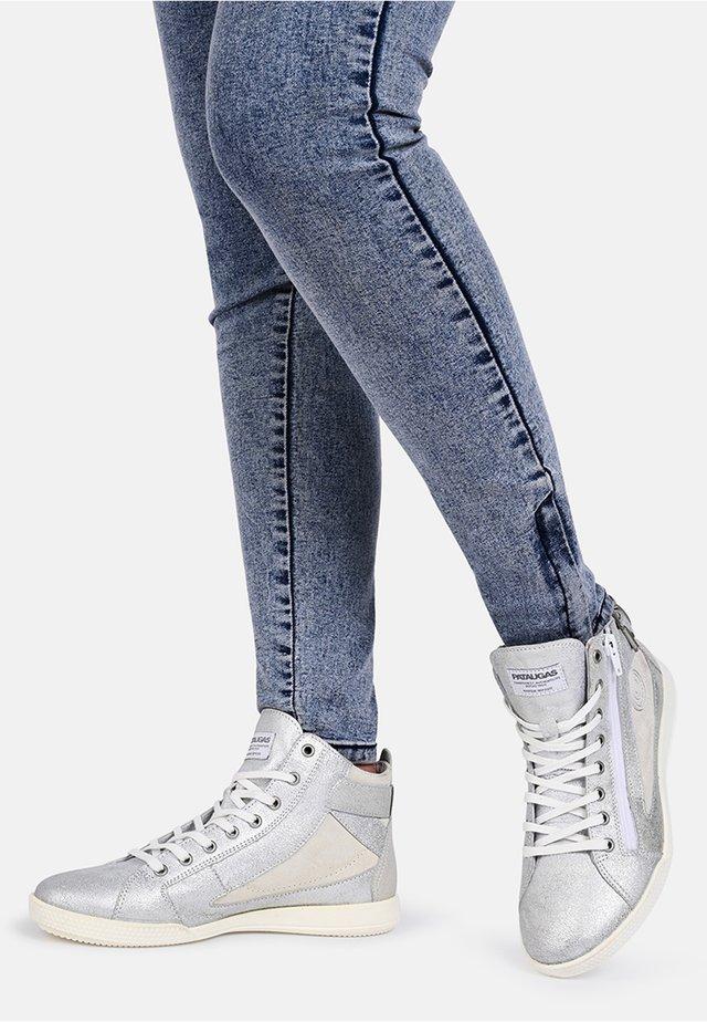 PALME - Sneakers hoog - silver