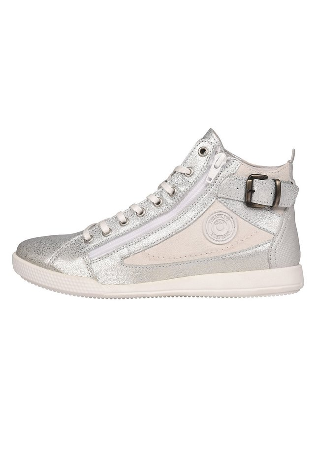 PALME - High-top trainers - silver