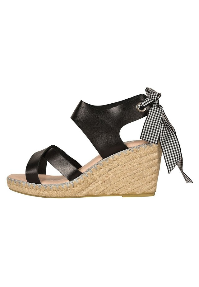 FIONA  - Wedge sandals - brown