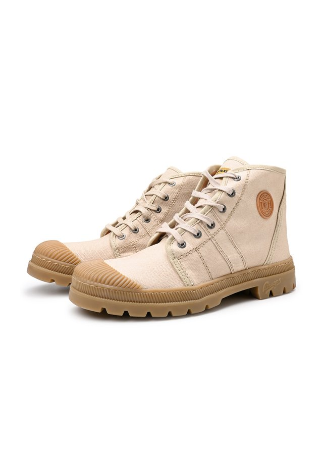 High-top trainers - sand