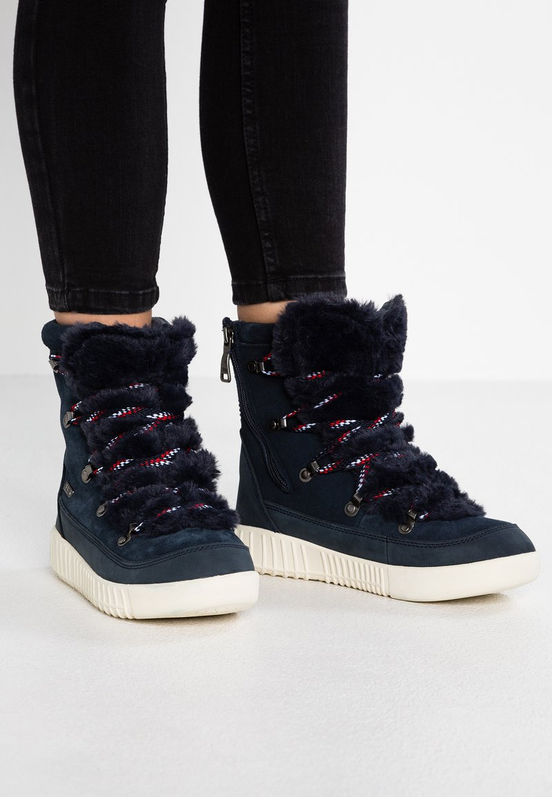 Pajar - PAMONA - Lace-up ankle boots - navy