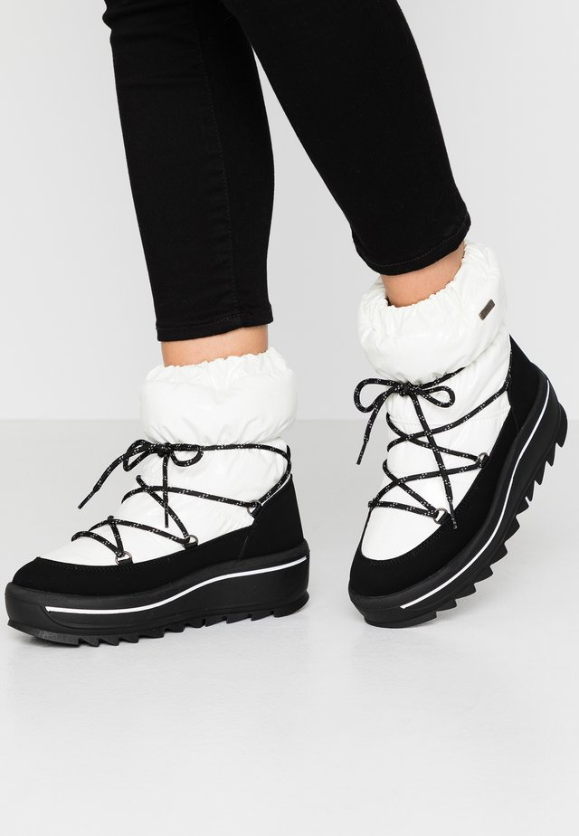 TAYA - Winter boots - white