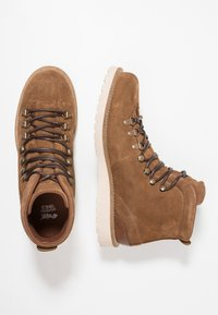 Pajar - LOUIE - Lace-up ankle boots - dark tan - 1