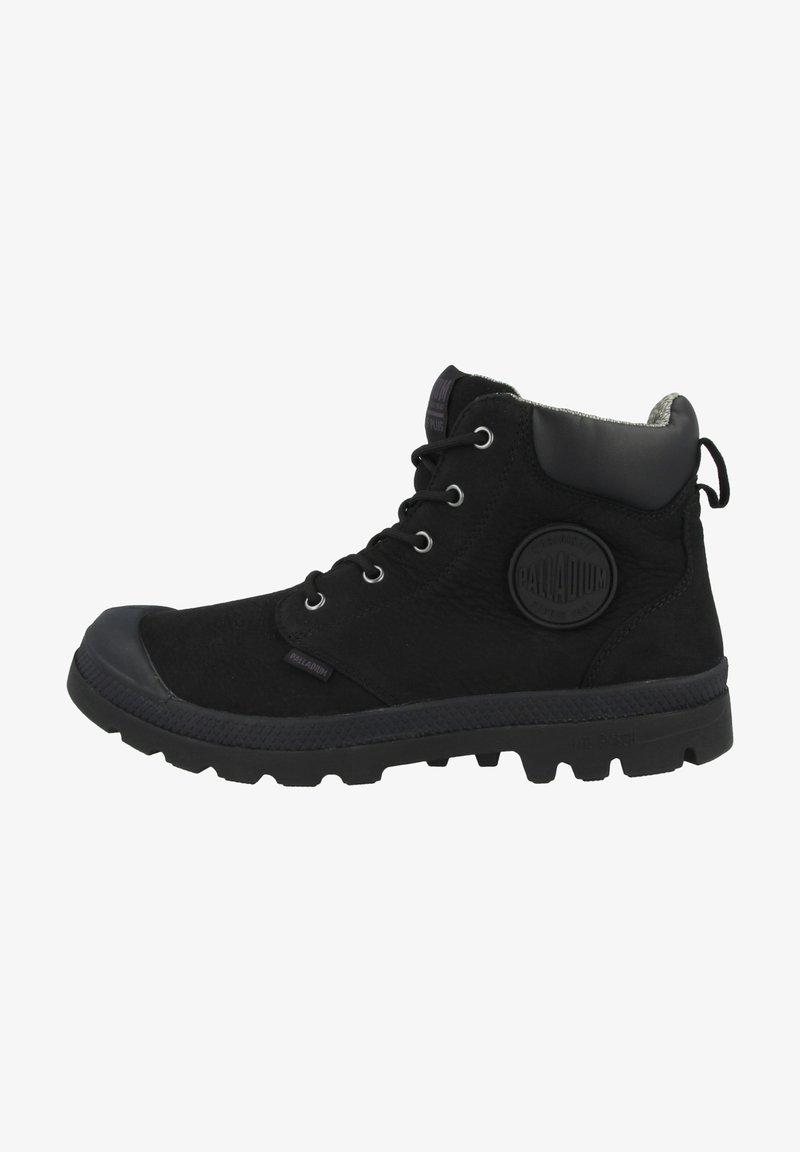 Palladium - Lace-up ankle boots - black