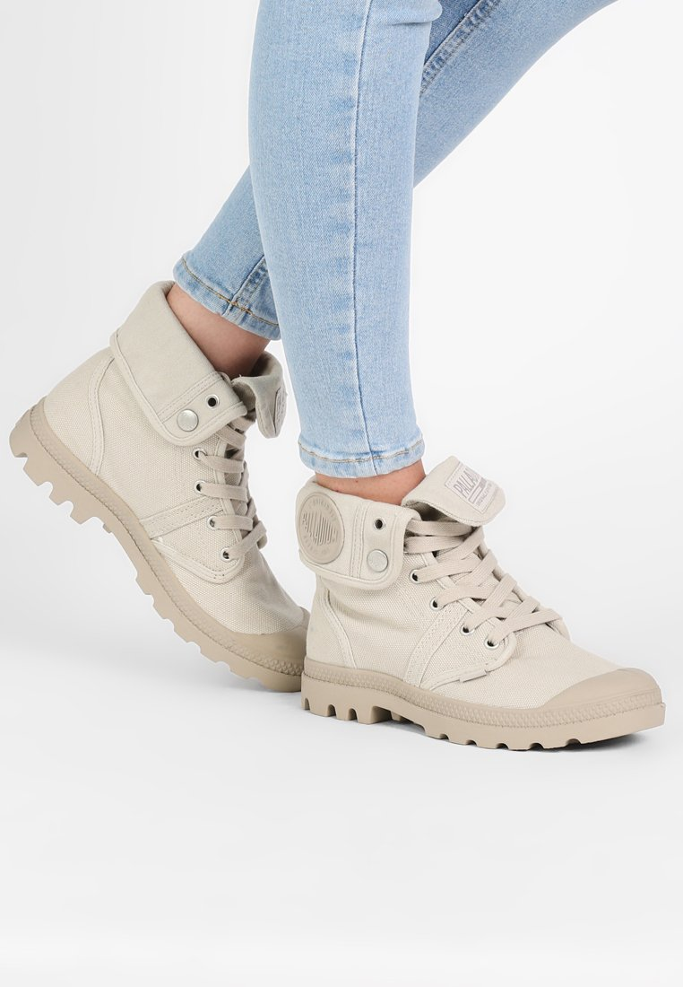 Palladium - PALLABROUSE BAGGY - Bottines à lacets - rainy day/string