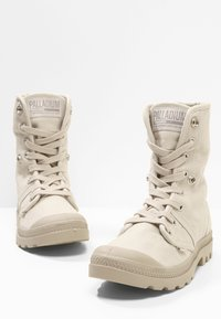Palladium - PALLABROUSE BAGGY - Bottines à lacets - rainy day/string - 7