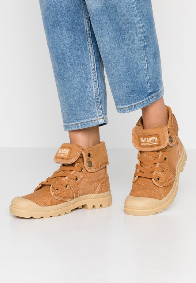PALLABROUSE BAGGY - Lace-up ankle boots - cathay spice