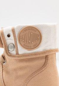 Palladium - PALLABROUSE BAGGY - Bottines à lacets - sand - 2