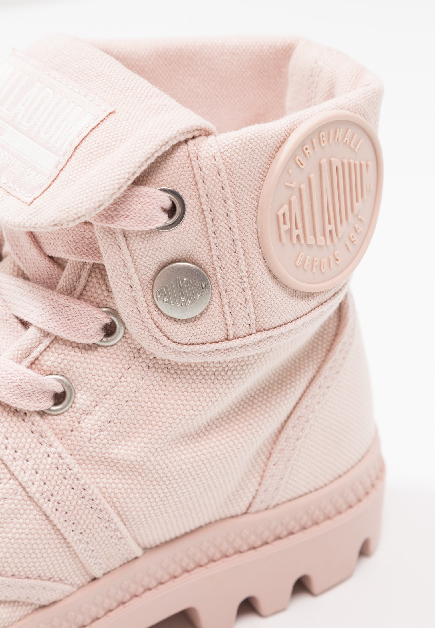 Palladium PALLABROUSE BAGGY - Bottines à lacets peach/whip