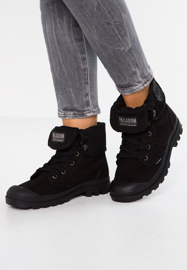 PALLABROUSE BAGGY - Lace-up ankle boots - black