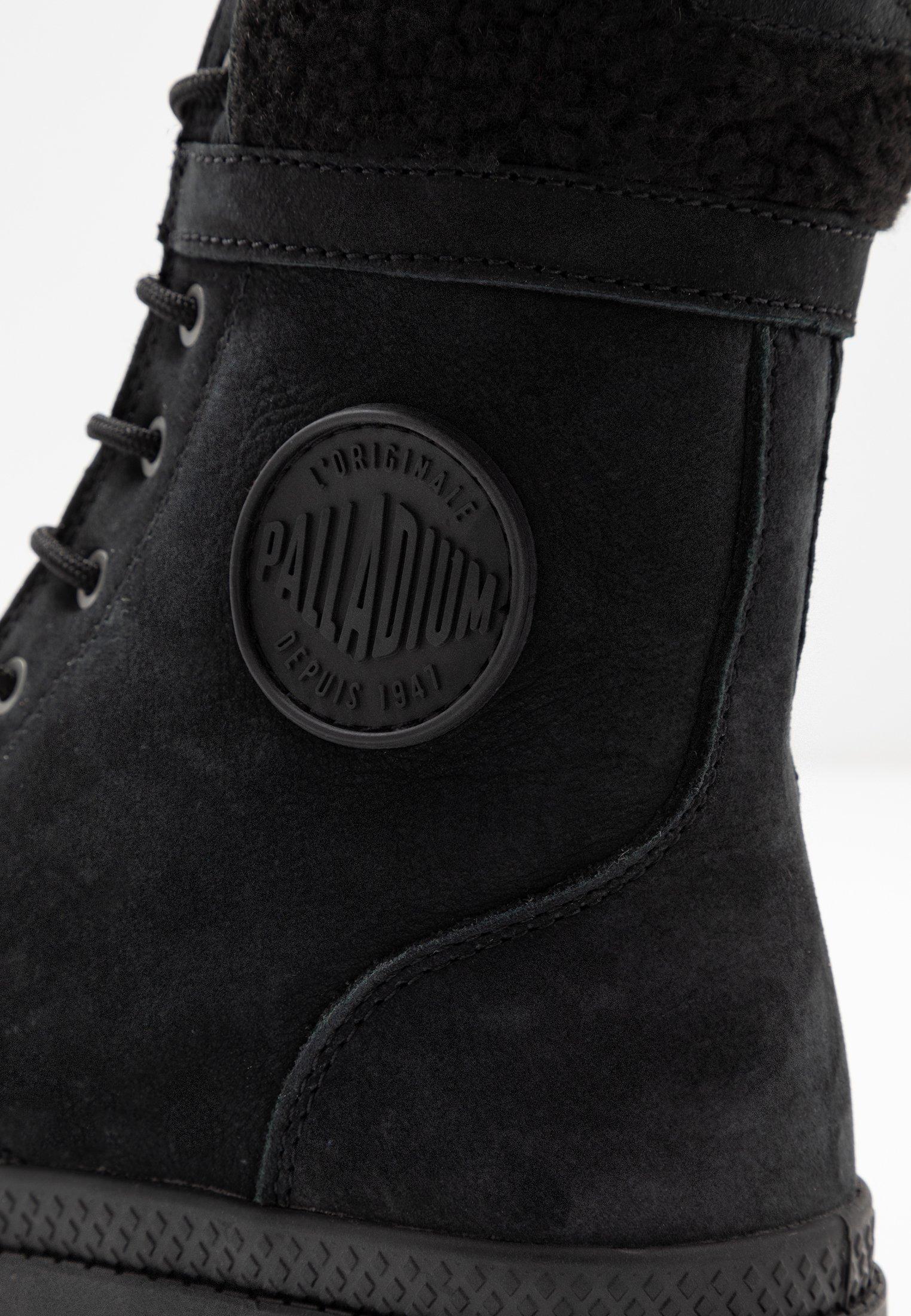 PILOT Bottines à lacets black