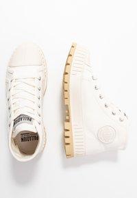 Palladium - PALLASHOCK MID  - Ankle boots - marshmallow - 3