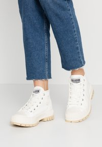 Palladium - PALLASHOCK MID  - Ankle boots - marshmallow - 0
