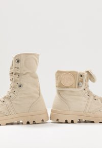 Palladium - PALLABROUSSE BAGGY - Bottines à lacets - sahara/safari - 5