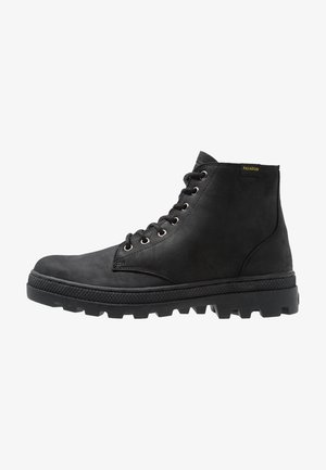 PALLABOSS MID - Bottines à lacets - black