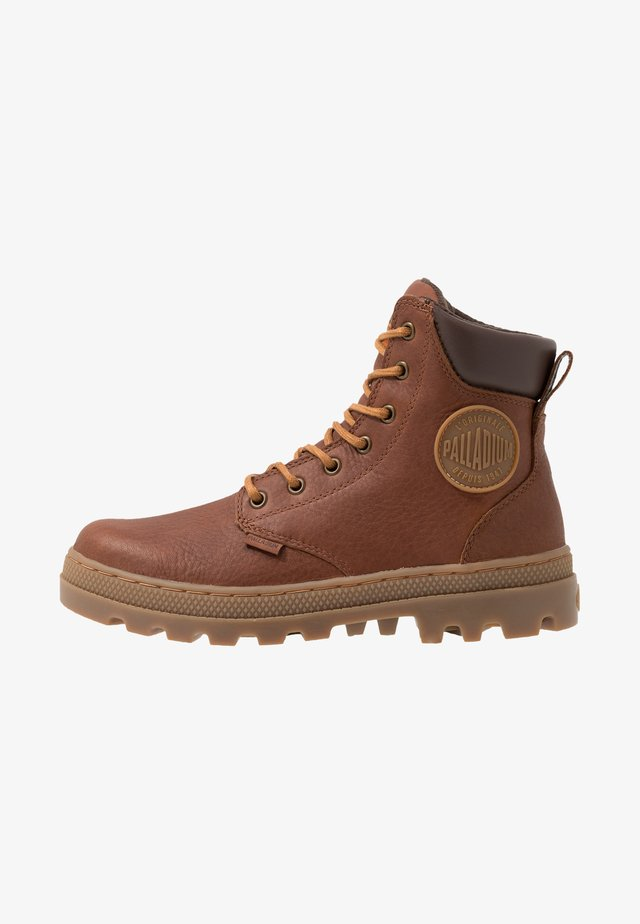 PALLABOSS SPORT CUFF WATERPROOF - Lace-up ankle boots - cathay spice