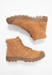 Palladium - PALLABROUSSE LEATHER - Bottines à lacets - mahogany - 1