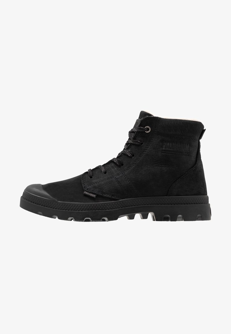 Palladium - PALLABROUSSE LEATHER - Lace-up ankle boots - black