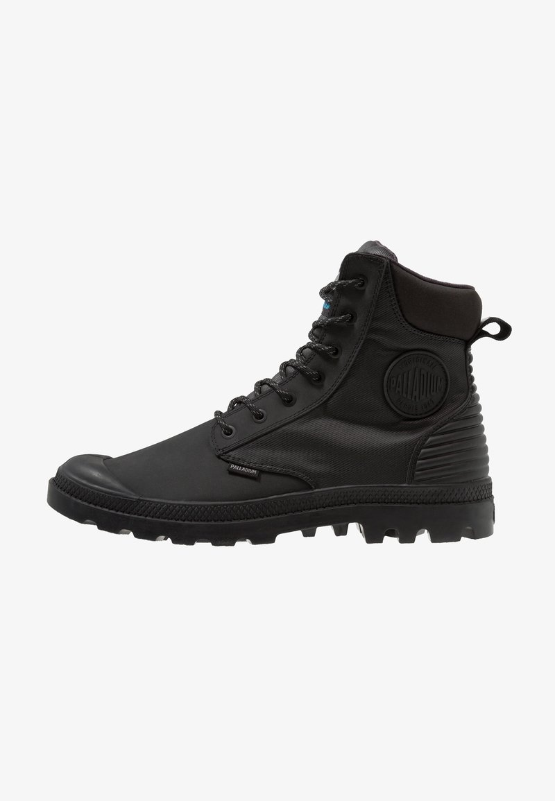 Palladium - SPORT CUFF SHADOW WATERPROOF - Lace-up ankle boots - black