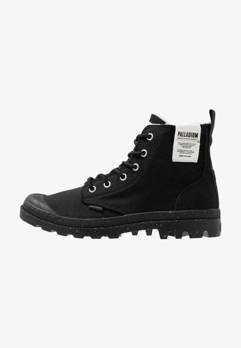 Palladium - PAMPA EARTH - Lace-up ankle boots - black