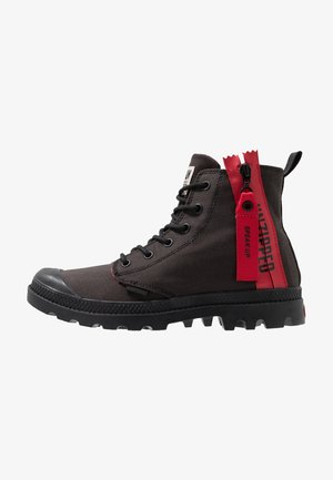 PAMPA UNZIP - Bottines à lacets - black