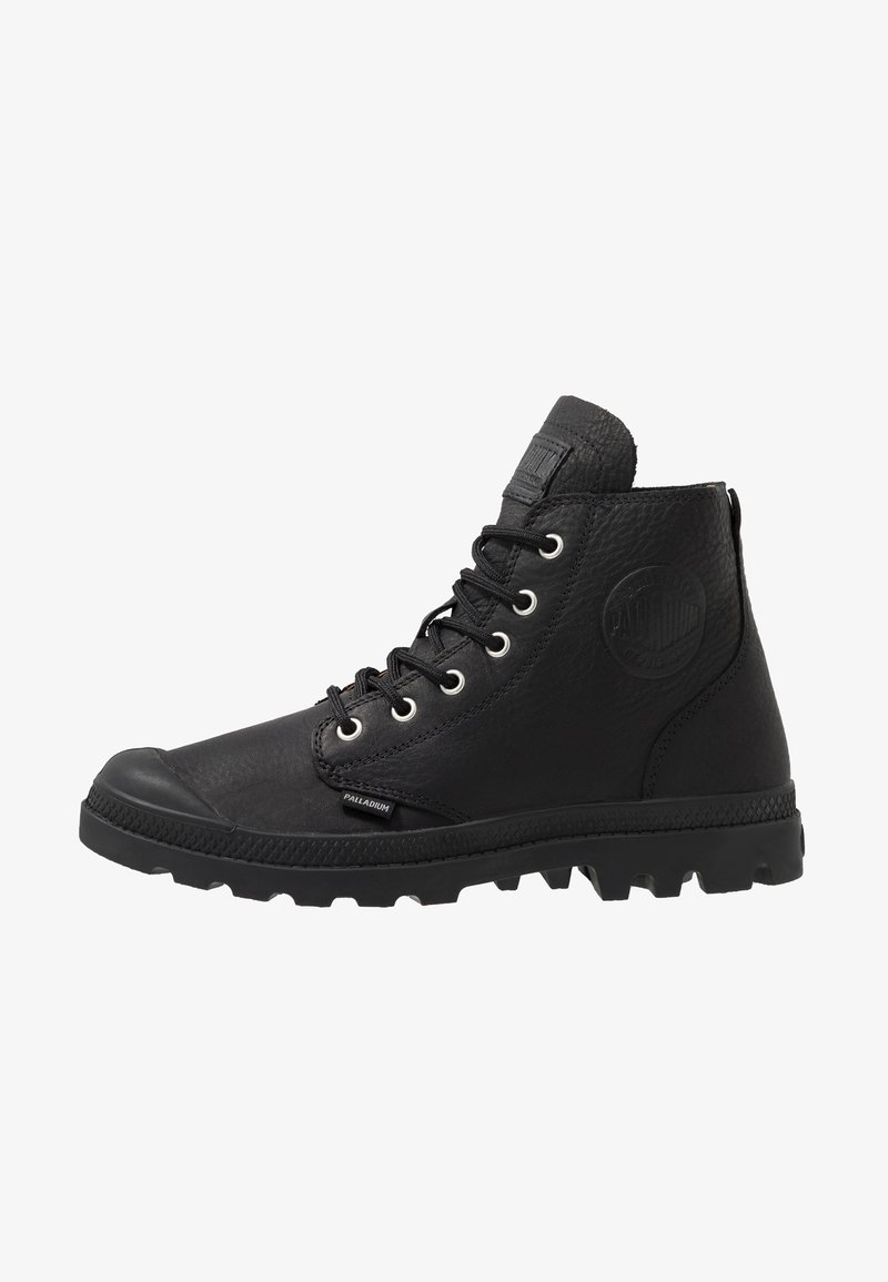 Palladium - PAMPA HI LEATHER - Lace-up ankle boots - black