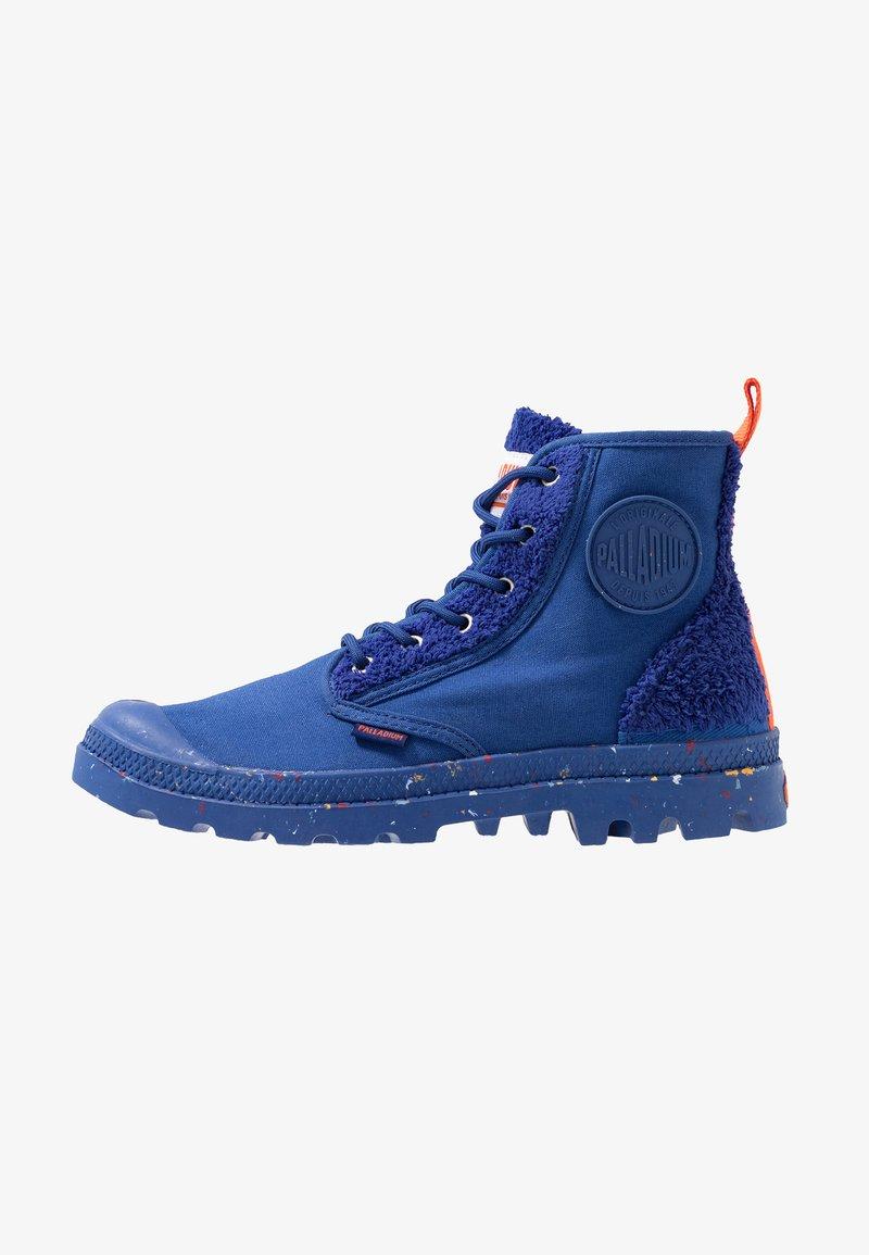 Palladium - PAMPA PILOU - Lace-up ankle boots - sodalite blue