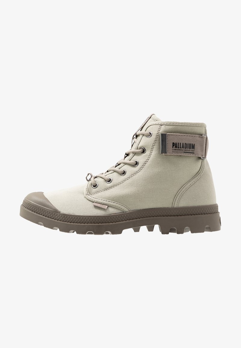 Palladium - PAMPA STRAP - Bottines à lacets - aluminum