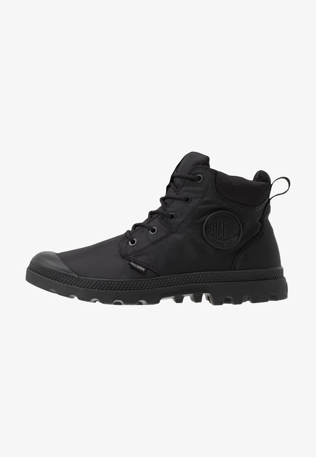 PAMPA CUFF RCYCLE WP+ - Bottines à lacets - black