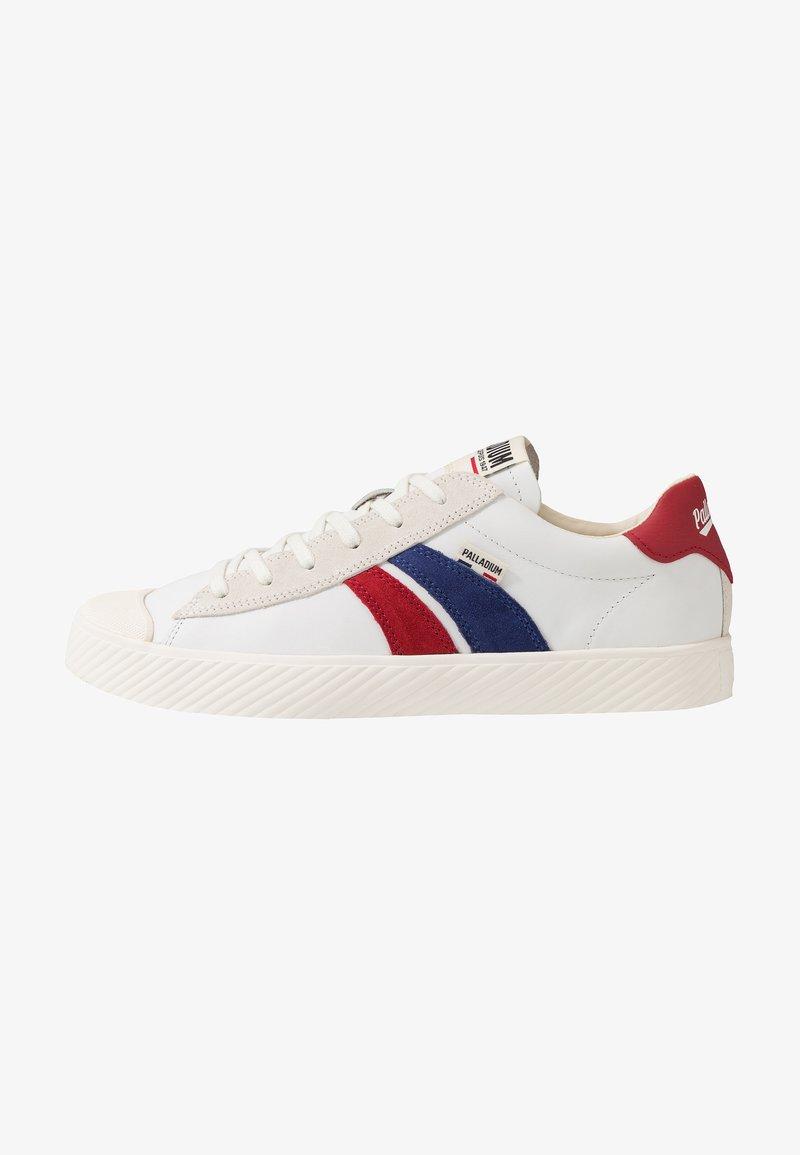 Palladium - PALLAPHOENIX RETRO - Sneakers laag - white/blue/red