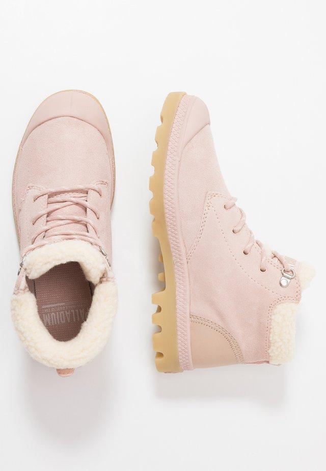PAMPA - Bottines à lacets - rose dust