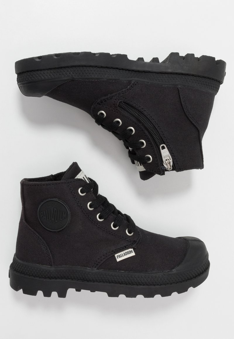 Palladium - PAMPA - Bottines à lacets - black