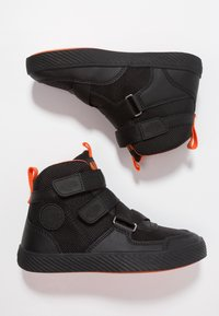 Palladium - PALLASTREET MID - Sneakers high - black/firecracker - 0